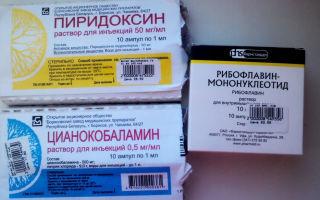 Витамины группы b в ампулах