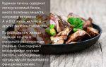 Куриная печень: витамины и польза