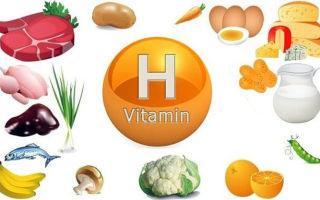 Витамин h (биотин, витамин в7)