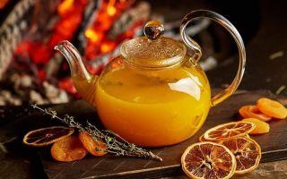 Облепиховый чай — рецепт, польза и противопоказания, как заварить