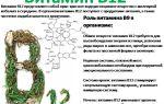 Анализ крови на витамин в12