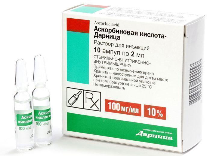 Аскорбиновая кислота в ампулах - Азбука витаминов