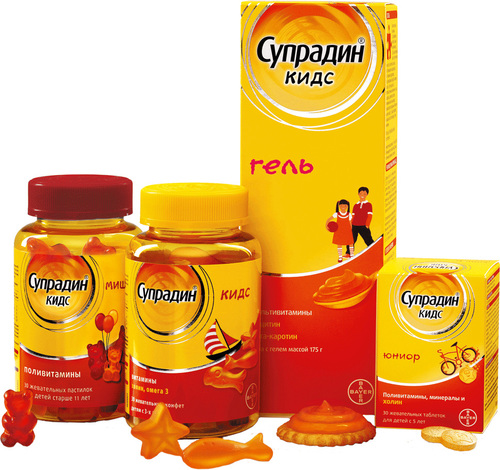 Какие витамины лучше для роста ребенка