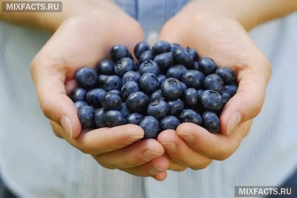 Какие витамины содержатся чернике