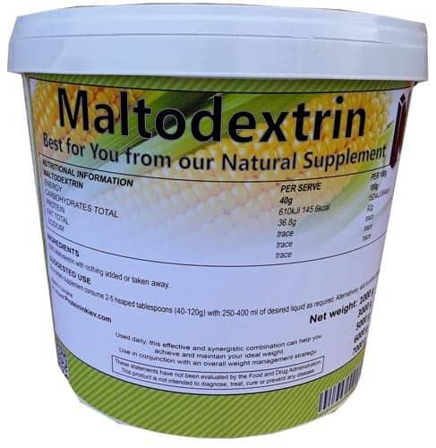 Мальтодекстрин — что это такое, польза и вред, гликемический индекс
