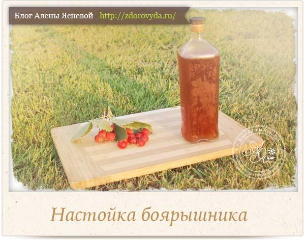 Настойка боярышника: показания, свойства, рецепты