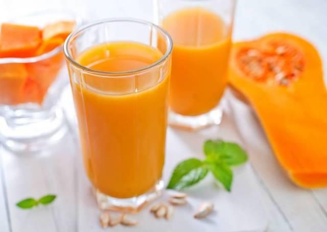 Сок тыквы: полезные свойства и противопоказания