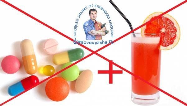 Грейпфрутовый сок: польза и вред для здоровья