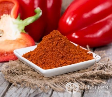 Паприка молотая — польза, применение, состав, вред и калорийность